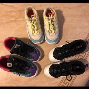 Bundle 3 pairs of nike shoes for girls